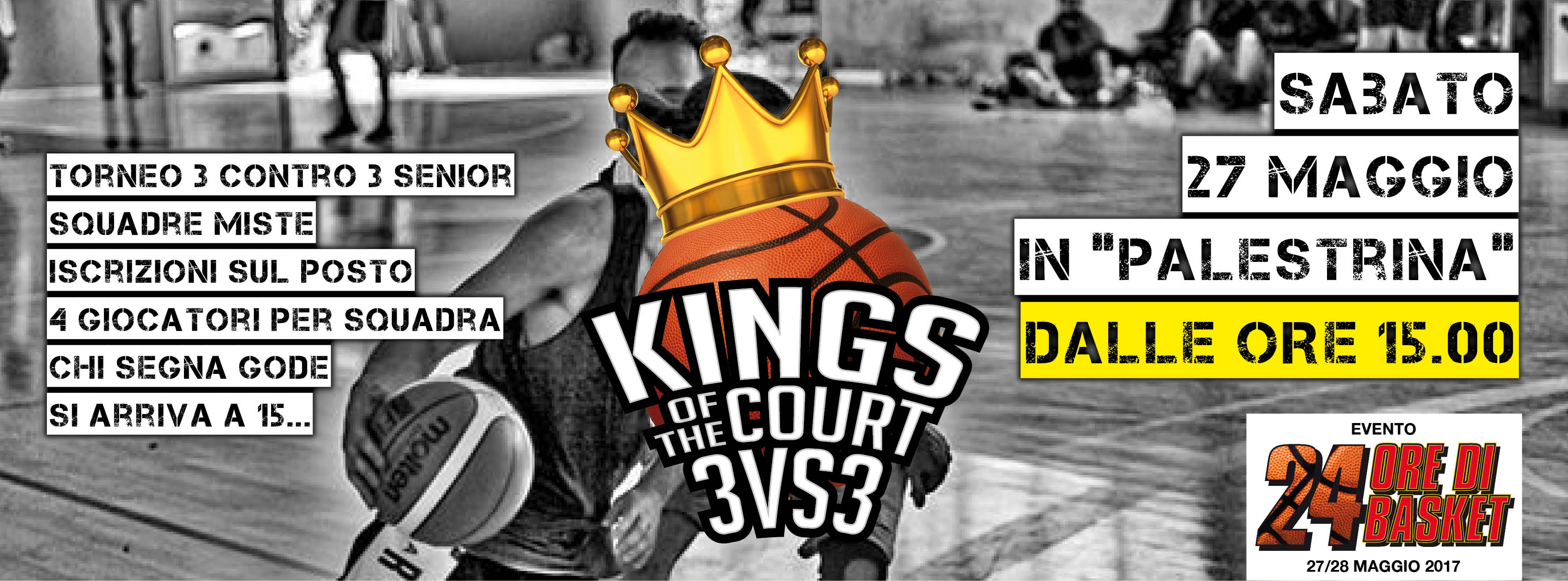 5° King of the Court - 3 vs 3